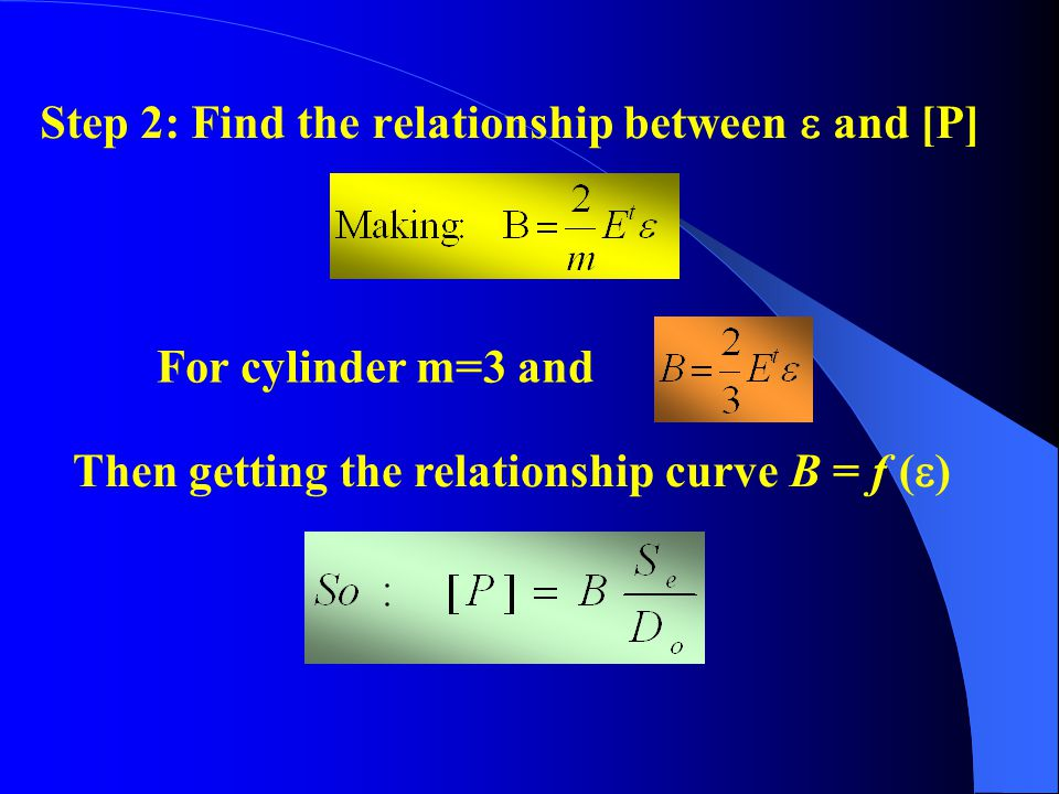 Step 2: Find the relationship between  and [P]
